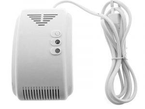 Gāzes noplūdes detektors (Dabas gāze un LPG) GD-701N-AC