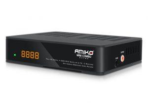 AMIKO MINI COMBO EXTRA DVB-S2+DVB-T2/C uztvērējs
