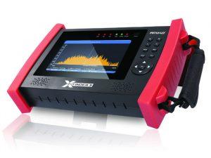 Amiko X-Finder 3 DVB-S/S2/T/T2/C signāla mērīšanas ierīce