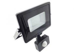 LED Prožektors 20W SMD 4000K Ultra plāns (25 mm) ar kustības sensoru