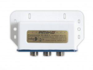 Amiko Premium D-201 DisEqC pārslēdzējs
