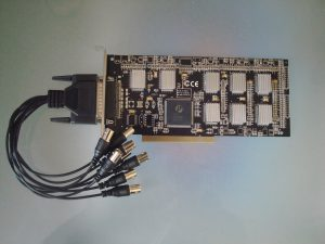 DVR video ieraksta PCI datorkarte KDM-404B (4 kanālu)