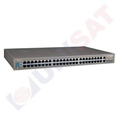TL-SL3452 48+4G Gigabitu Uplink M kommutātors