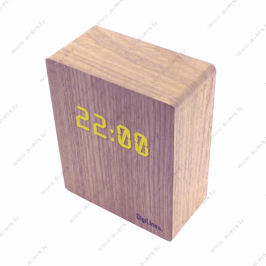 Pulkstenis koka korpusā EN1604B (300651)