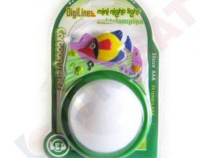 JBB-DJ07A Balta LED lampa ar zivs dizainu