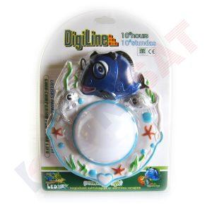 JBB-DJ07I Balta LED lampa ar zivs dizainu