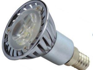 LED spuldze 3W 220V 3500K 400440