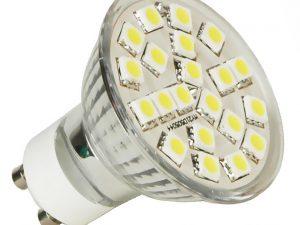 LED spuldze 4W 220V 3500K 400506