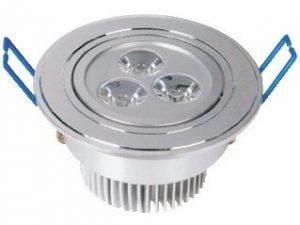 LED panelis apaļš 220V / 3W