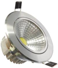 LED panelis apaļš 265V / 10W