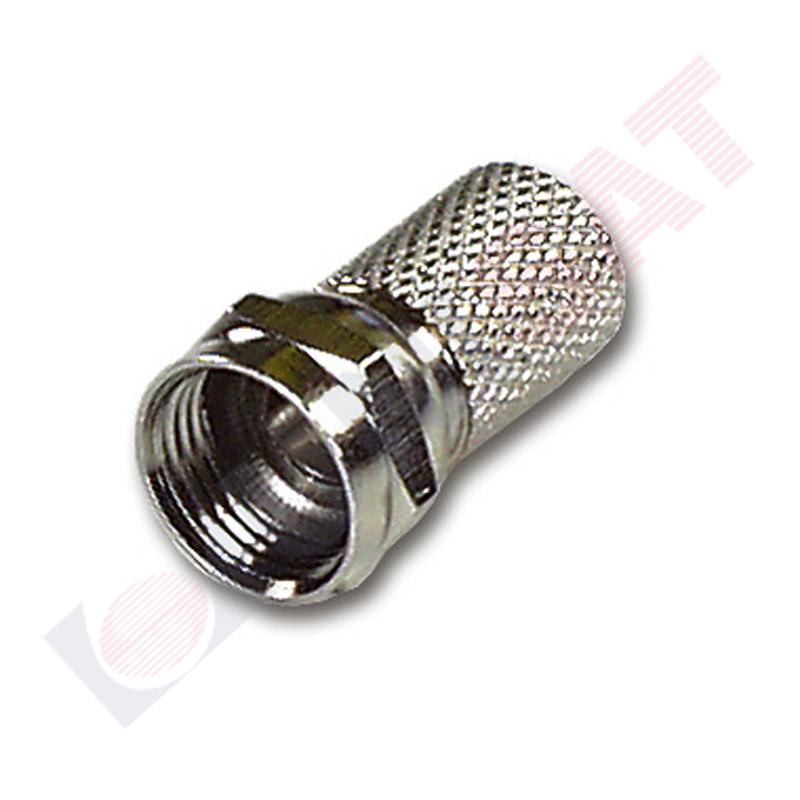 F konektors 6.50/4.80/18 mm