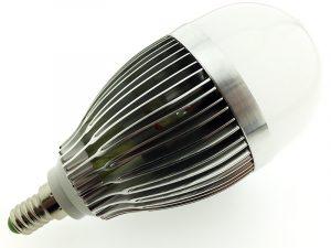 LED spuldze 9W 220V 3500K 400662