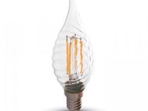 LED filamenta spuldze 4W 220V 2700K TC4388