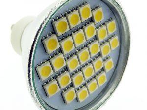 LED spuldze 5W 220V 3500K 400664